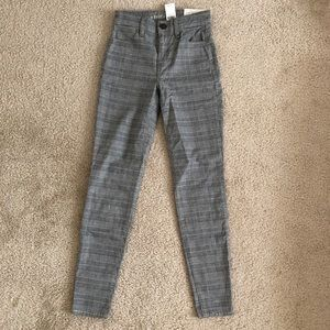 NWT American eagle gingham jegging